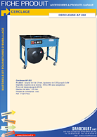 Brochure technique Cercleuse AP 202