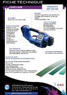 Brochure technique Orgapack ORT 250/400