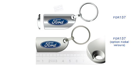 Porte clés Ford for137/for137 (option nickel velours)