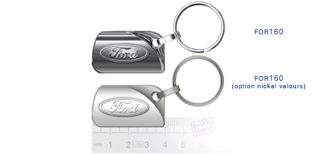 Porte clés Ford for160/for160 (option nickel velours)