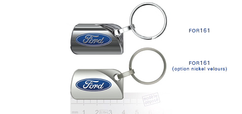 Porte clés Ford for161/for161 (option nickel velours)