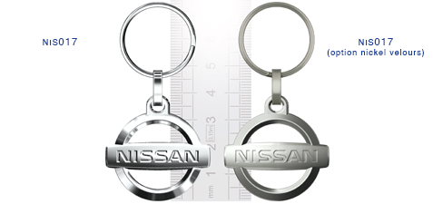 Porte clés Nissan nis017/nis017 (option nickel velours)