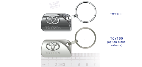 Porte clés Toyota suz160/suz160 (option nickel velours)